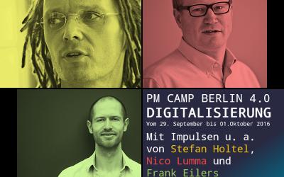 Wir sagen DANKE für ein großartiges PM Camp Berlin 4.0!