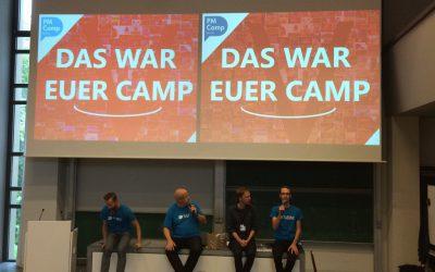 Vielen Dank für ein großartiges PM Camp Berlin V!