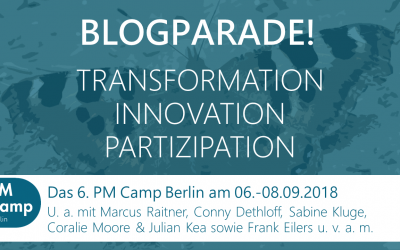 "Blogparade: ""TRANSFORMATION 