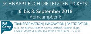 6. PM Camp Berlin 2018