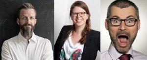 3 Mitglieder des Organisationsteams des PM Camps Berlin